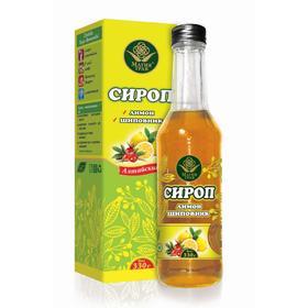 Сироп «Магия трав», лимон, шиповник, 330 г