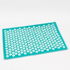 Аппликатор игольчатый «Большой коврик», 242 колючки, изумрудный, 41х60 см