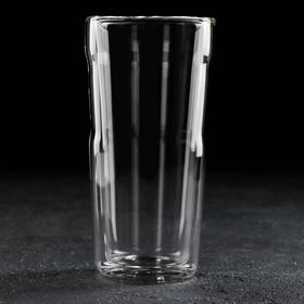 Стакан с двойными стенками Magistro «Дуо», 450 мл, 8×8×16,6 см