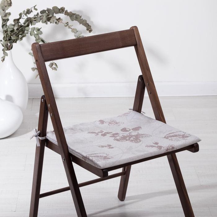 Cидушка на стул Фиалка, 40х40х1,5см