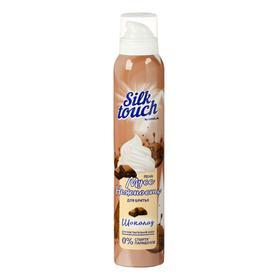 Мусс-пена для бритья Carelax Silk Touch женский, шоколад, 200 мл