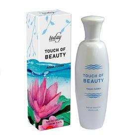 Туалетная вода женская Touch of Beauty Aqua Flora, 100 мл