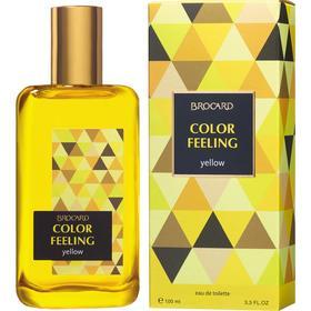 Туалетная вода женская Color Feeling Yellow, 100 мл