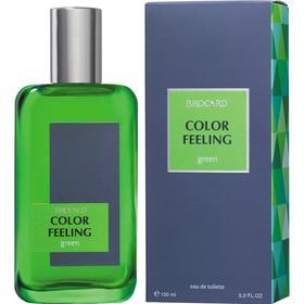 Туалетная вода мужская Color Feeling Green, 100 мл