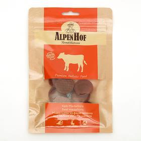 Медальоны из телёнка AlpenHof для собак и щенков мелких пород, 50 г