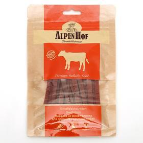 Нарезка из филе телёнка AlpenHof для собак, 80 г