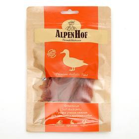 Грудка утиная AlpenHof для собак средних и крупных пород, 80 г