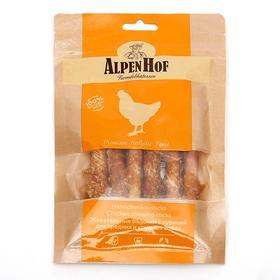 Жевательные палочки AlpenHof для собак средних и крупных пород, курица, 80 г