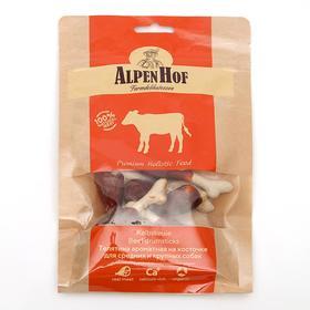 Телятина ароматная на косточке AlpenHof для собак средних и крупных пород, 50 г