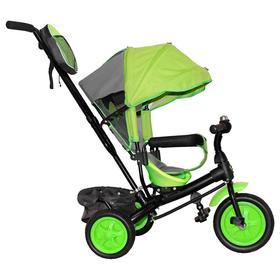 Велосипед трехколесный Лучик Vivat 2, колеса EVA 10'/8', цвет салатовый Ош
