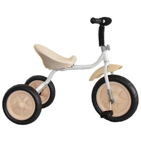 Велосипед трехколесный Лучик Малют 4, колеса EVA  10'/8', цвет белый Ош