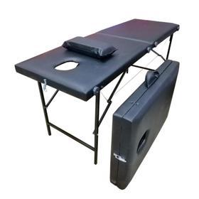 Массажный стол 'Колибри' 180*60*70, цвет чёрный Ош