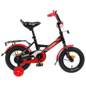 Велосипед 12' Graffiti Classic, цвет черный/красный Ош