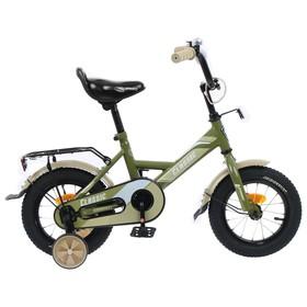 Велосипед 12' Graffiti Classic, цвет хаки Ош