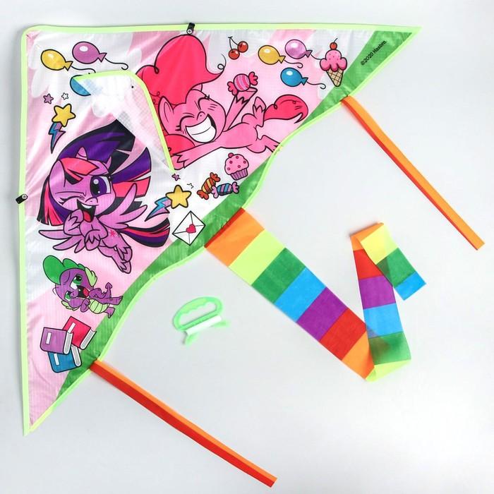 Воздушный змей «Милые пони», My Little Pony, 70 x 105 см