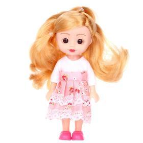 Кукла классическая «Ася», в платье, МИКС Ош