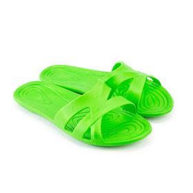 Сланцы пляжные женские, цвет зелёный, размер 40 Ош