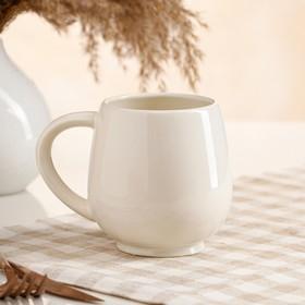"""Кружка """"Чайная"""", белая, 0.4 л"""