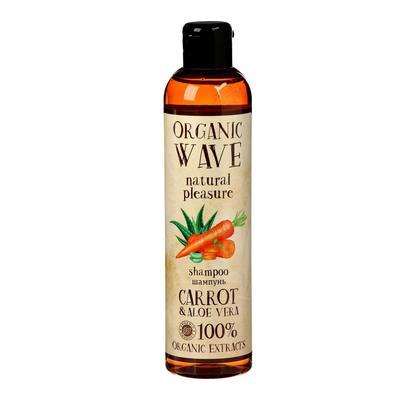 Шампунь для волос Carrot & Aloe Vera, сила и блеск, 250 мл