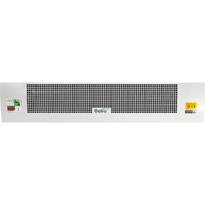 Тепловая завеса Ballu BHC-B20T12-PS, 12000 Вт, 3 режима, 2200 м3/ч, белая