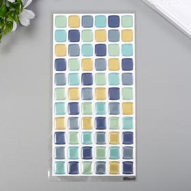 """Объёмные наклейки Room Decor """"Декор 1"""" 10х20 см"""