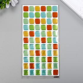 """Объёмные наклейки Room Decor """"Декор 3"""" 10х20 см"""