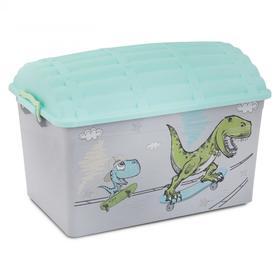 Контейнер-сундук «Динозаврики», 50 литров