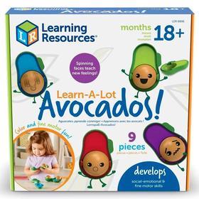 Развивающая игрушка «Эмоции с авокадо», 9 элементов