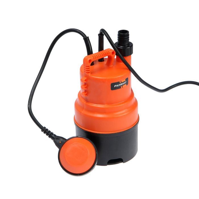 Насос дренажный PATRIOT F 300, для чистой воды, 250 Вт, напор 5 м, 58 лмин, кабель 5 м