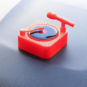 Аксессуар на панель, вращающаяся пластинка от солнца, красный Ош