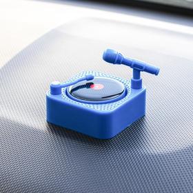 Аксессуар на панель, вращающаяся пластинка от солнца, синий Ош