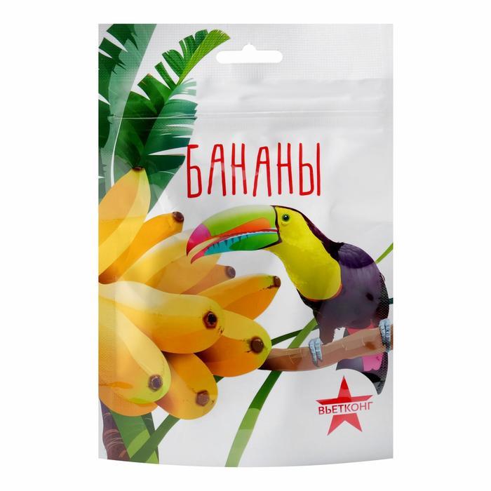 Бананы сушёные «Вьетконг», 100 г