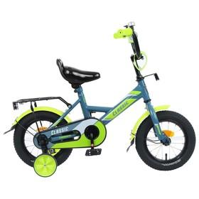 Велосипед 12' Graffiti Classic, цвет серый/лимонный Ош