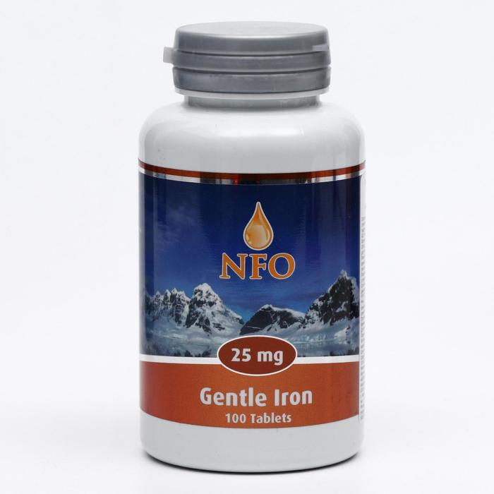 Norwegian Fish Oil «Легодоступное железо», 100 таблеток по 550 мг