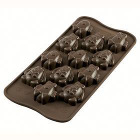 Форма для приготовления конфет Easter friends, силиконовая