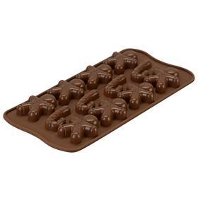 Форма для приготовления конфет Mr ginger, силиконовая