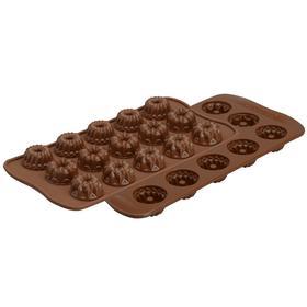 Форма для приготовления конфет и пирожных Fantasia, силиконовая