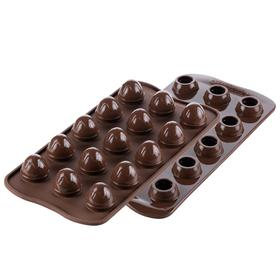 Форма для приготовления конфет Choco drop, силиконовая