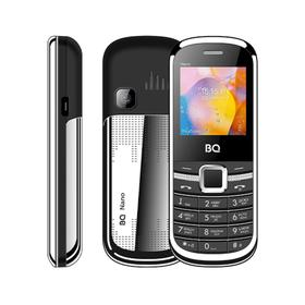 """Сотовый телефон BQ M-1415 Nano, 1.44"""", 2 sim, 32Мб, microSD, 400 мАч, серебристый"""