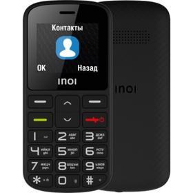 """Сотовый телефон INOI 103B, 1.8"""", 2sim, 600 мАч, черный"""