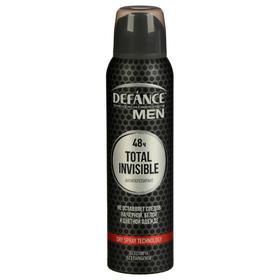 """Дезодорант мужской DEFANCE """"Total Invisible"""" 48ч 150 мл"""