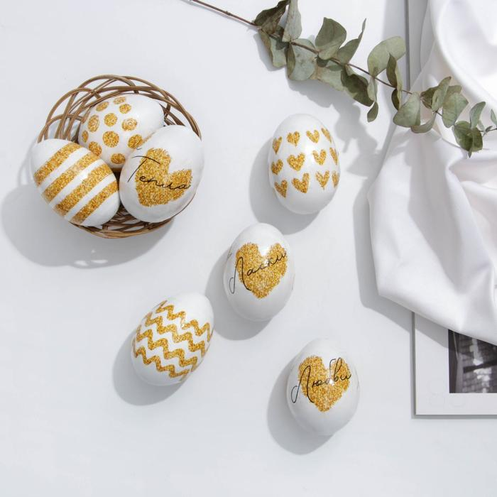 Пасхальная термоплёнка «Золото», на 7 яиц