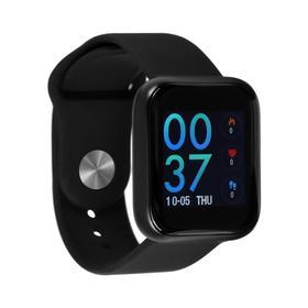 """Смарт часы ZDK Style 80, цветной дисплей, 1.3"""", Bluetooth, IP68, черный"""