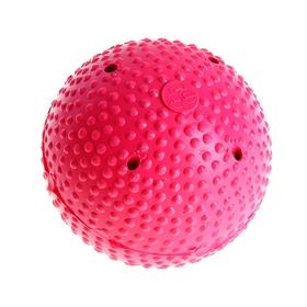 Мяч для хоккея на льду I.V.P, FIB Appr, пластик/дерево, цвет малиновый Ош