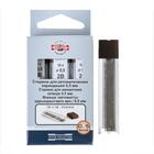 Грифели для механических карандашей, 0.5 мм, Koh-I-Noor, 4152 2B, 12 шт, в футляре