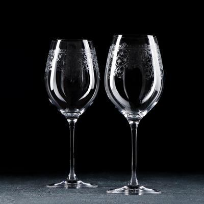 Набор бокалов для вина RONA Celebration. Европейский декор, 470 мл, 2 шт - Фото 1