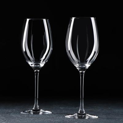 Набор бокалов для вина Chateau white, 410 мл, 2 шт - Фото 1