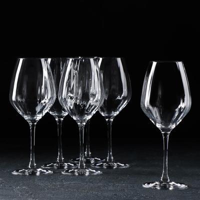 Набор бокалов для вина «Фаворит Оптика», 360 мл, 6 шт - Фото 1