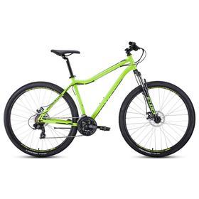 Велосипед 29' Forward Sporting 2.2 disc, цвет ярко-зеленый/черный, размер 19' Ош