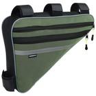 Велосумка под раму большая Dream Bike «МАСТЕР», цвет зелёный - Фото 2